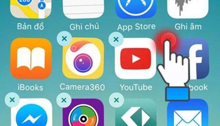 Gỡ ứng dụng trên iPhone iPad, xóa ứng dụng trên iPhone iPad, xóa Games trên iPhone iPad