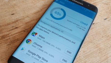 Kiểm tra dung lượng RAM trên điện thoại Android, kiểm tra bộ nhớ RAM