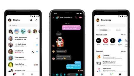 """Cách bật chế độ nền tối trên Messenger Facebook, bật chế độ """"Dark mode"""" trên Messenger Facebook"""