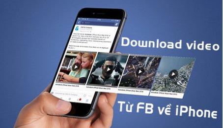Hướng dẫn tải ảnh từ Facebook về điện thoại, lưu ảnh trên Facebook về điện thoại iPhone