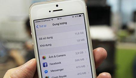 Cách kiểm tra dung lượng iPhone khi muốn lên đời máy, lưu ý về dung lượng khi đổi máy iPhone
