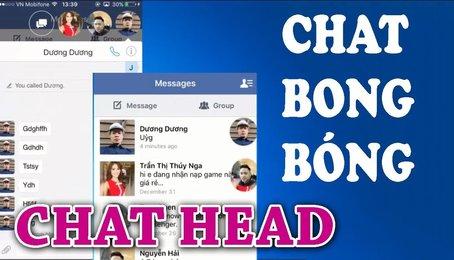 Bật tắt chế độ Mini chat của Messenger Facebook trên điện thoại