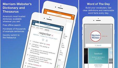 Từ điển Tiếng Anh tốt nhất trên iPhone, iPad, phần mềm Tiếng Anh tốt nhất trên iOS