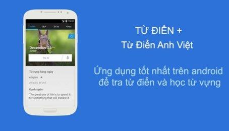 Từ điển Tiếng Anh Offline tốt nhất trên điện thoại