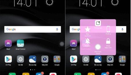 Mẹo cài phím Home ảo trên điện thoại Android, Assistive Touch trên điện thoại Android