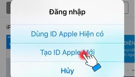 Cách tạo tài khoản Apple ID miễn phí mới nhất 2019