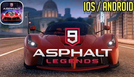 [Games đua xe] Asphalt 9 Legend - Game đua xe hay nhất trên điện thoại 2019
