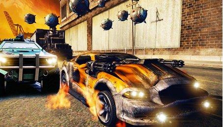 [Games đua xe] Death race - Đua xe bắn súng cực hay trên điện thoại