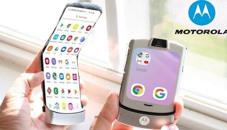 Motorola Razr 2019 lộ ảnh thực tế. Đây có lẽ là xu hướng tương lai của điện thoại