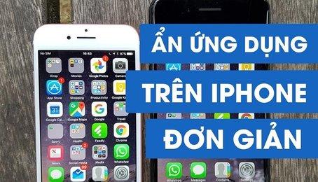 Mẹo ẩn ứng dụng trên iPhone iPad, giấu ứng dụng trên iPhone iPad