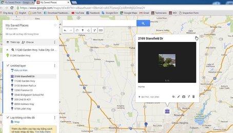 Cách đánh dấu địa điểm trên Google Maps trên iPhone, lưu địa điểm trên Google Maps trên iPhone