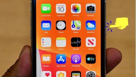 Khởi động lại iPhone X, Xs, Xr, iPhone 11 khi máy bị treo, đơ, giật, lag