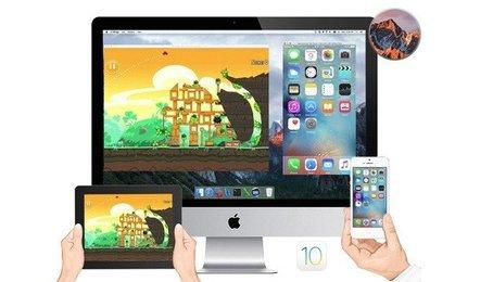 Chiếu iPhone lên màn hình máy tính, hiển thị màn hình iPhone lên máy tính