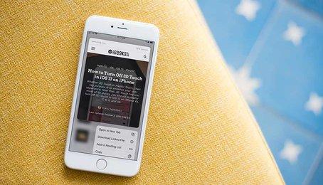 Cách tắt tính năng xem trước trên Safari, tắt tính năng Preview trên Safari (iOS 13)