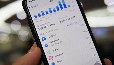 Những ứng dụng ngốn Pin nhất trên điện thoại