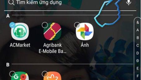 Mẹo ẩn ứng dụng trên điện thoại Samsung