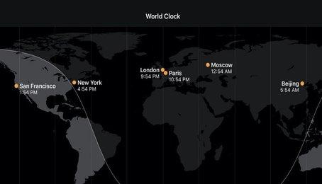 Cách kiểm tra múi giờ trên iPhone, iPad, Mac, Apple Watch, hướng dẫn kiểm tra múi giờ trên iOS