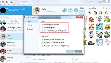 Cách tìm lại đoạn chat trên Zalo, tìm lại đoạn hội thoại ở Zalo trên máy tính