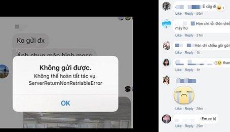 Khắc phục lỗi không gửi được tin nhắn Messenger trên điện thoại