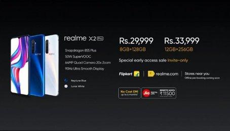Realme X2 Pro xuất hiện thông số cấu hình cực khủng. Fan rất hào hứng
