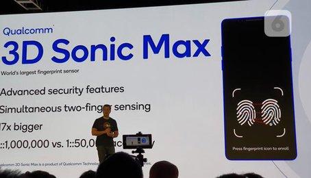 Sức mạnh cảm biến vân tay siêu âm mới từ Qualcomm ngay cả Apple cũng thèm muốn