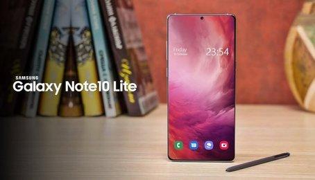 Thiết kế cực đẹp của Samsung Galaxy Note 10 Lite qua ảnh render
