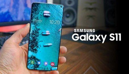 Samsung Galaxy S11 để lộ màn hình tuyệt đẹp. Xu thế màn hình 2020 đã lộ diện