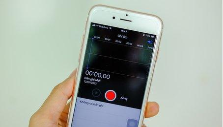 Cách ghi âm trên iPhone và iPad dễ dàng, nhanh nhất