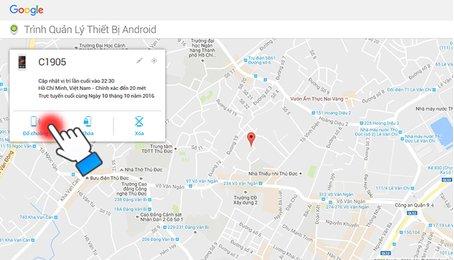 Cách tìm điện thoại Android bị mất, định vị điện thoại Android bị mất