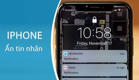 Cách ẩn nội dung tin nhắn Messenger trên iPhone, che nội dung Messenger nhanh nhất