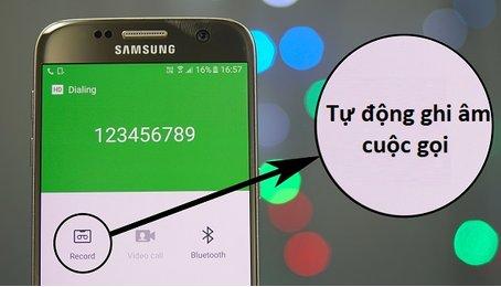 Cách ghi âm cuộc gọi trên điện thoại Samsung Galaxy, ghi âm trên điện thoại Samsung Galaxy cực kỳ đơn giản