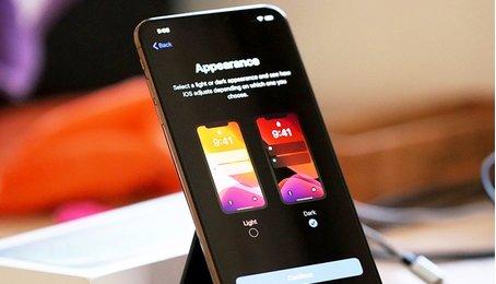 Tác dụng của chế độ nền tối trên điện thoại, chế độ Dark mode trên điện thoại
