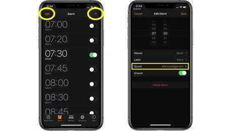 Đặt chuông báo thức trên iPhone, thay đổi chuông báo thức cho iPhone