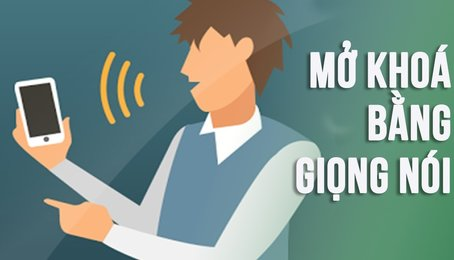Khóa ứng dụng trên điện thoại bằng giọng nói, khóa ứng dụng bằng nhận diện khuôn mặt