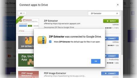 Thủ thuật mở tệp nén trong Google Drive, mở file ném trên điện thoại