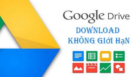 Mẹo download file khi bị giới hạn số lần tải trên Google Drive