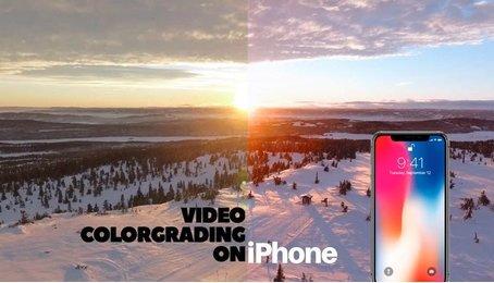 Top những phần mềm chỉnh sửa màu Video cho iPhone cực chất
