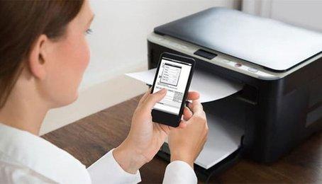 Kết nối máy in với điện thoại Android, dùng điện thoại để in tài liệu