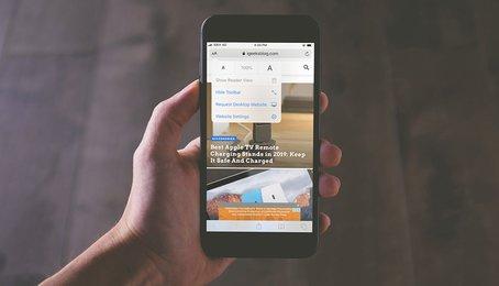 Cách tăng kích thước Font chữ Safari trên iPhone và iPad (iOS 13)
