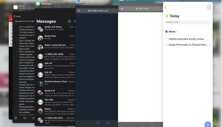 Mẹo sử dụng tính năng đa nhiệm Slide Over trên iPadOS