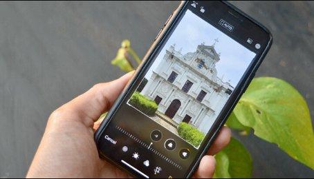 Cách chỉnh ảnh bị lệch, bị nghiêng trên điện thoại. Hiệu chỉnh lại ảnh bị nghiêng trên iPhone, iPad và Android