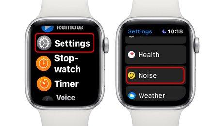 Tính năng đo tiếng ồn trên Apple Watch, đo cường độ tiếng ồn bằng Apple Watch