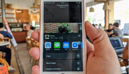Cách lấy ảnh chất lượng cao từ Video 4K trên iPhone iPad (trích xuất ảnh từ Video 4K trên iOS)