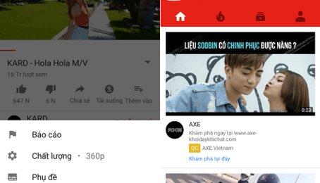 Mẹo xem Youtube không bị giật, lag. Khắc phục hiện tương đứng hình khi xem Youtube