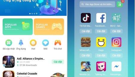 Cách sử dụng App Market thay thế chợ ứng dụng CH Play trên điện thoại OPPO