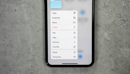 Mẹo chia sẻ thư mục iCloud Drive trên iOS 13.4/ iPadOS 13.4