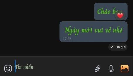 Mẹo thay đổi kiểu chữ để tạo điểm nhấn khi nhắn tin trên Zalo