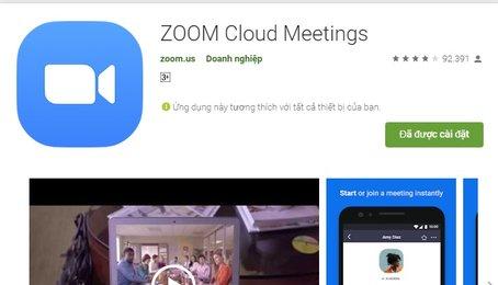 Mẹo sử dụng ứng dụng Zoom làm việc Online và học Online tại nhà