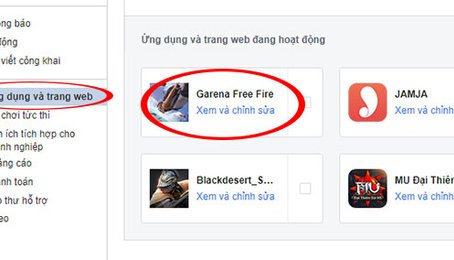 Mẹo xóa ứng dụng được kết nối với tài khoản Facebook của bạn