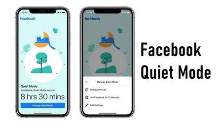 Chế độ Quite Mode mới trên Facebook sẽ giúp người dùng quản lý thời gian sử dụng ứng dụng